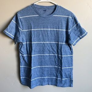 Other - Men's old navy blue with white stripes T-shirt